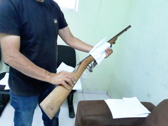 Idoso é preso depois de ameaçar de morte o irmão no norte do Piauí