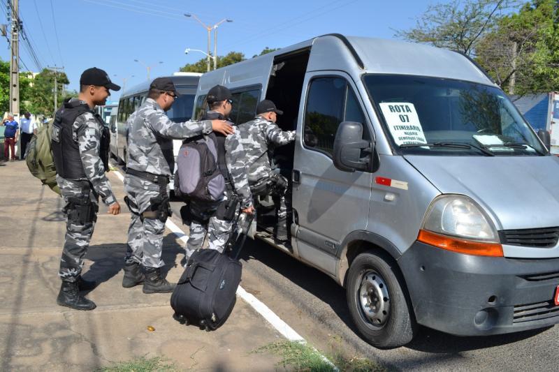 Eleições: Governo do Piauí não paga diária e PM's que viajaram para o interior passam 'necessidades'