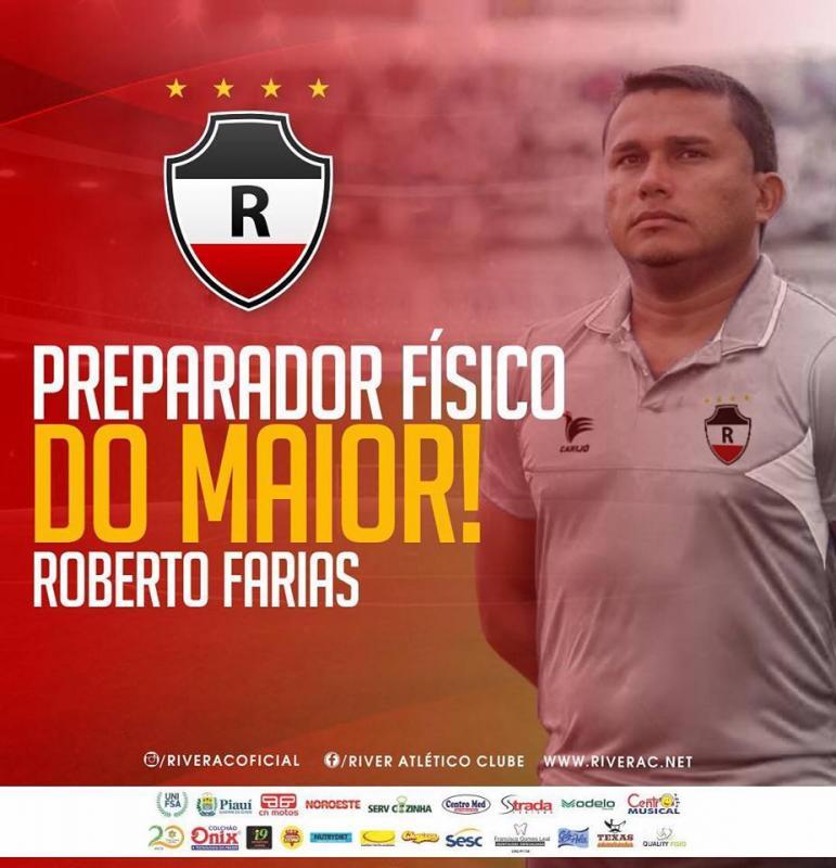 River apresenta novo preparador físico do Tricolor Piauiense