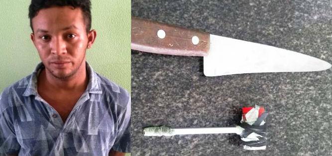 Foragido é preso após esfaquear cunhado no pescoço em Campo Maior