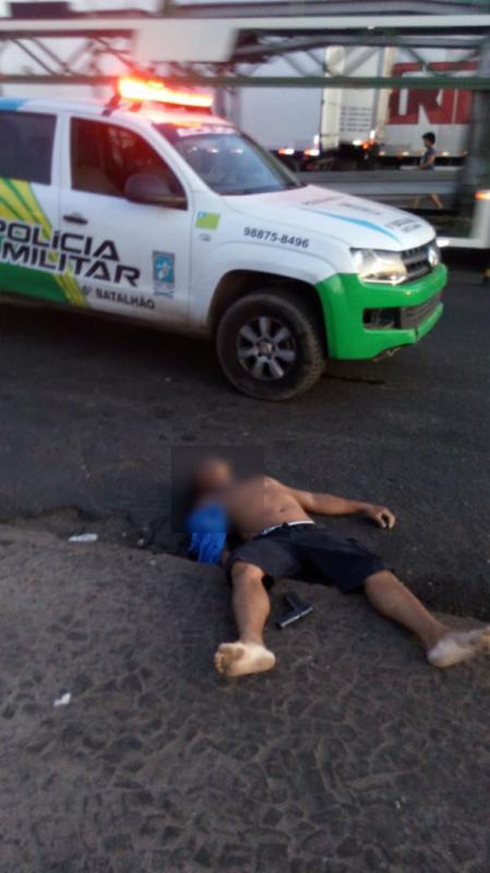 Suspeito é morto após trocar tiros com 'policial' em Teresina