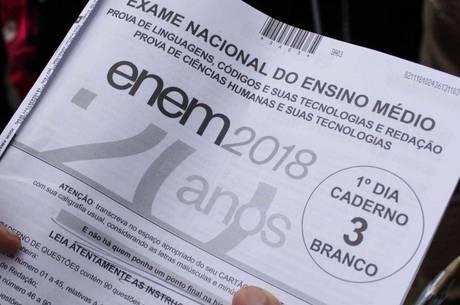 Piauí teve o menor número de abstenção no Enem em todo o país