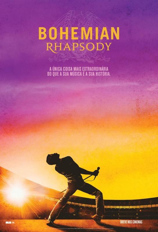 Cinebiografia de Freddie Mercury está em cartaz nos Cinemas Teresina