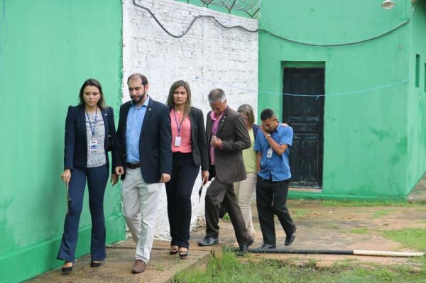OAB-PI constata superlotação e precariedade na estrutura de Penitenciária no Sul do Piauí