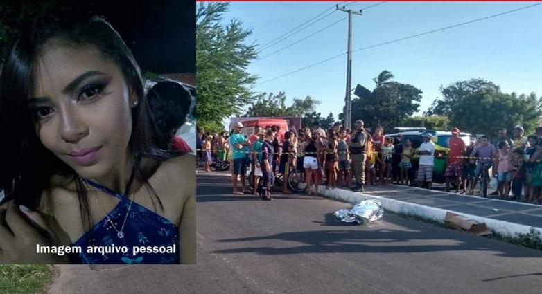 Jovem morre em colisão de moto com carro em avenida de Parnaíba