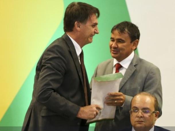 Wellington Dias entrega 'Carta dos Governadores do Nordeste' à Jair Bolsonaro