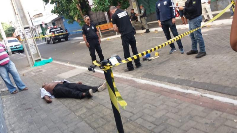 Vigia noturno é morto a tiros no Centro de Teresina