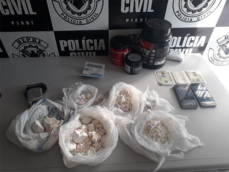 Polícia apreende cocaína avaliada em R$ 100 mil no bairro Real Copagre