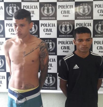 Polícia prende dupla suspeita de assassinar jovem na zona Sudeste