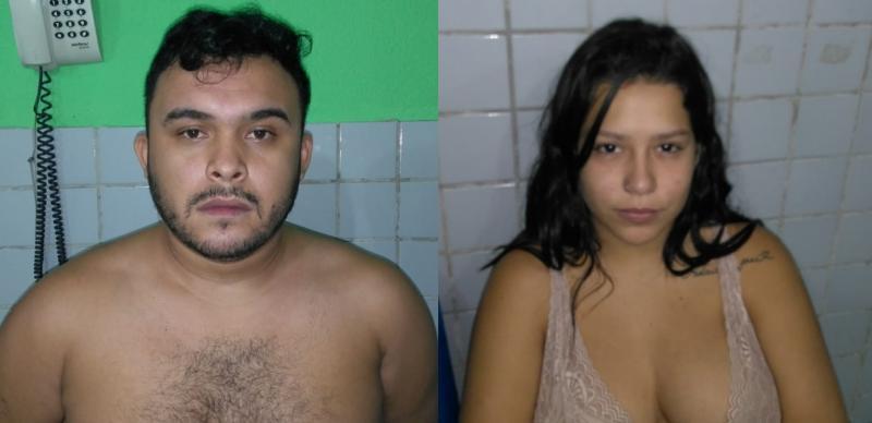 Casal é preso pelo Rone suspeito de receptação e tráfico de drogas