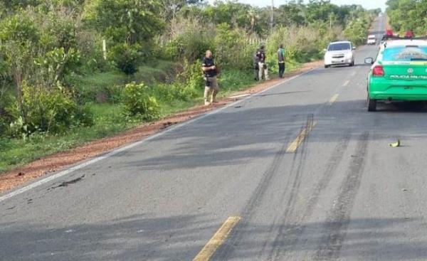 Motociclista morre em acidente de trânsito na zona rural de Floriano