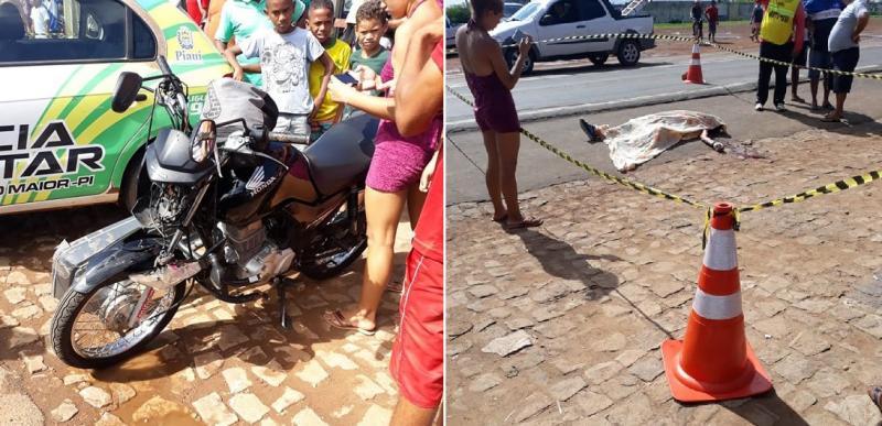 Homem morre em colisão entre carro e motocicleta na BR-343