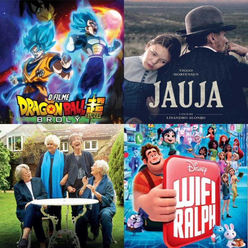 'Jauja', 'Chá com as Damas' e 'WiFi Ralph - Quebrando a Internet' entram em cartaz nos Cinemas Teresina