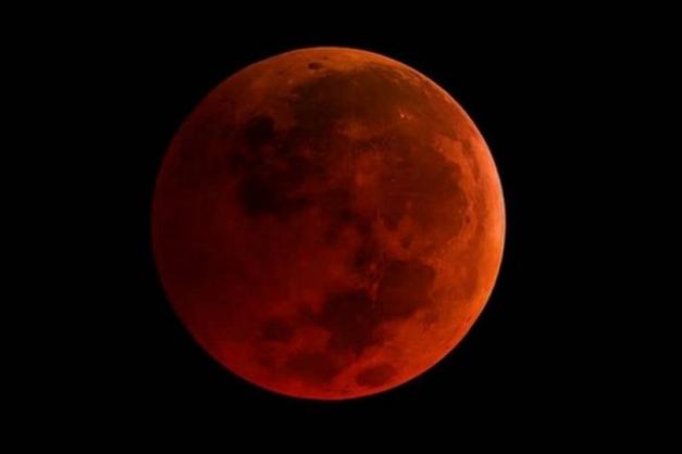 'Superlua de sangue de lobo': novo ano começará com eclipse lunar total