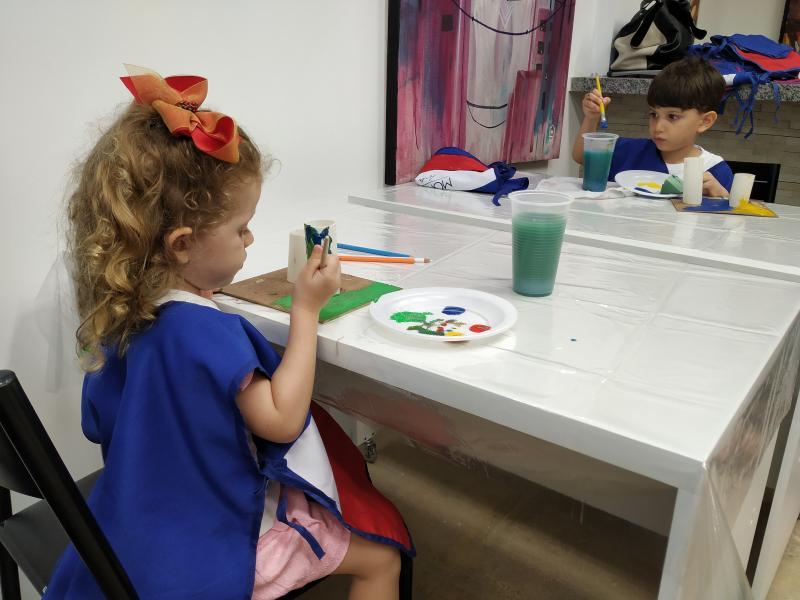 Muita diversão e aprendizado na Oficina Infantil Pintando o Sete!