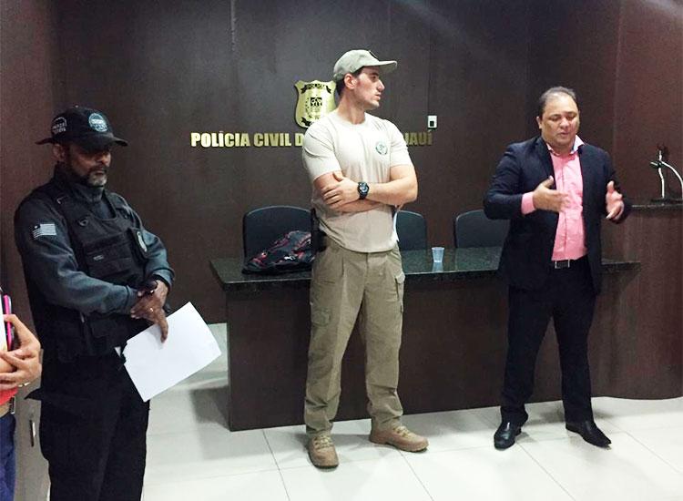 Polícia Civil do Piauí cumpre quatro mandados de prisão em Teresina