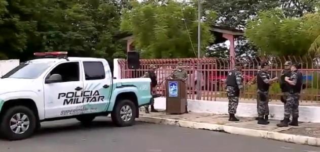 Operação conjunta da Polícia fecha acessos entre Teresina e Timon