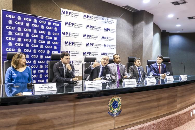 Operação Topique: Ex-prefeitos do Piauí estão na lista de denunciados do MPF à Justiça Federal