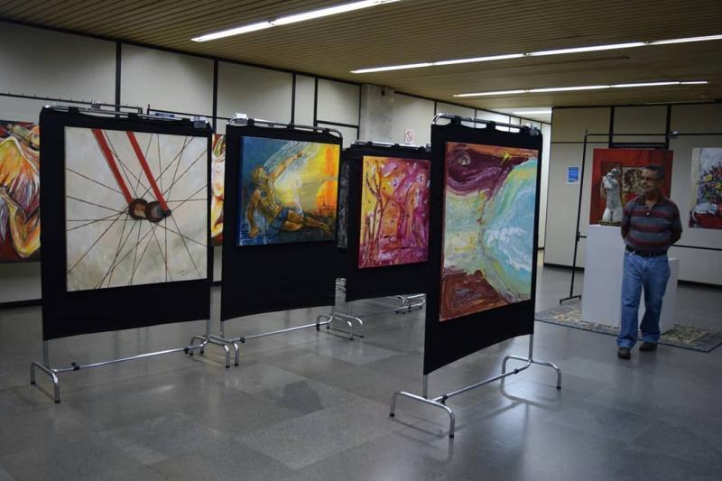 Janeiro Branco: Levando arte para um espaço sobre saúde mental