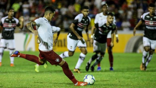 Fluminense goleia River com 5x0 no Albertão em jogo de abertura da Copa do Brasil