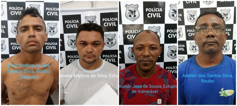 Polícia do Piauí cumpre sete mandados de prisão na Operação Tornado