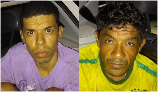 Dois homens são presos em flagrante roubando ar condicionado de escola