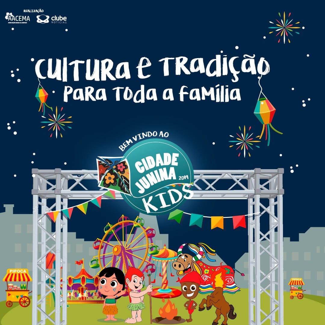 Cidade Junina resgata brincadeira de criança