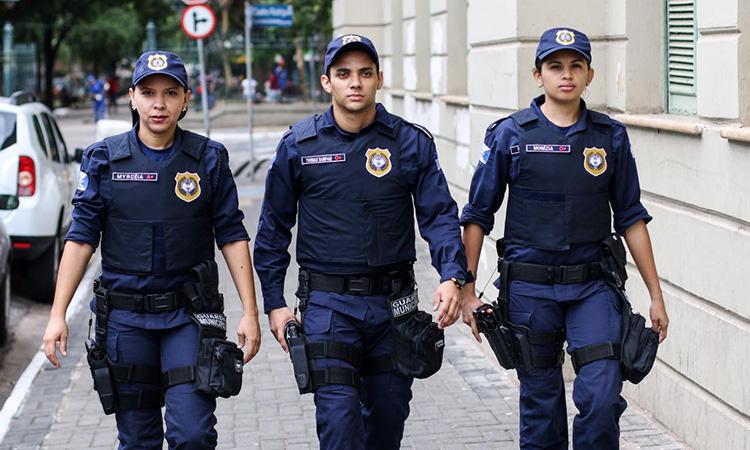 Guardas municipais realizam curso de aperfeiçoamento