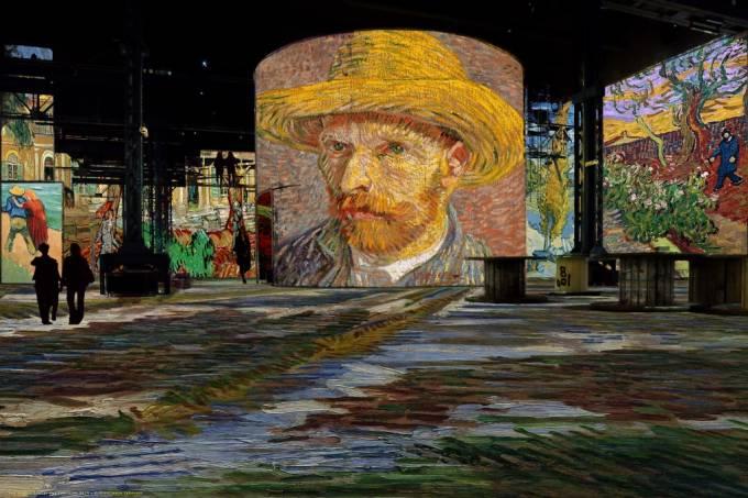 """Exposição """"Noite Estrelada"""" em Paris e a enorme popularidade de Van Gogh atualmente"""