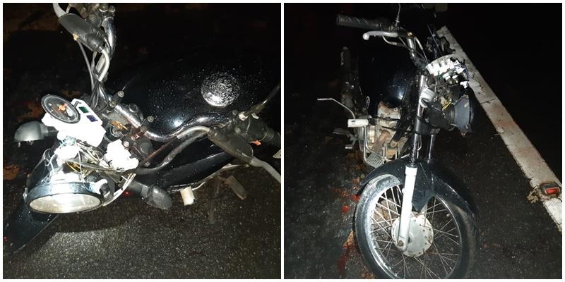 Motociclista morre após bater em vaca na BR 316 em Monsenhor Gil