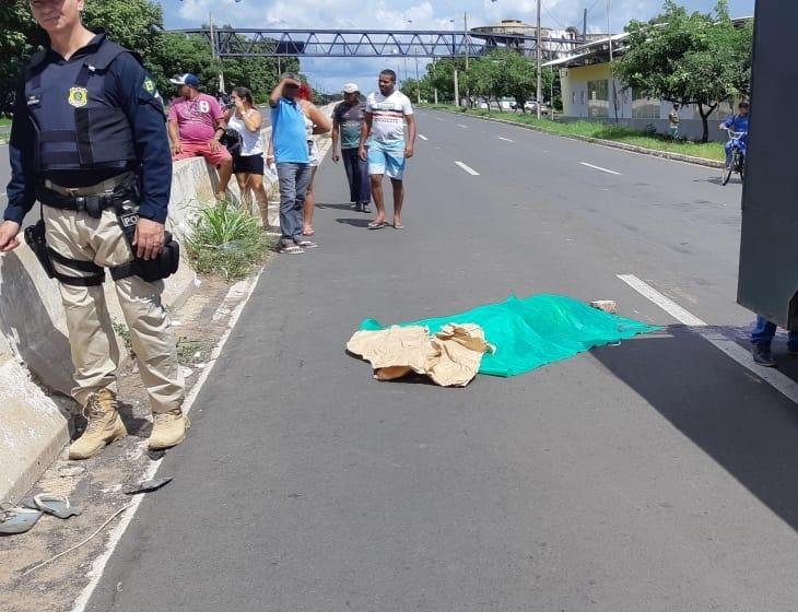 Pedestre morre ao ser atropelado por carro na BR 316 em Teresina