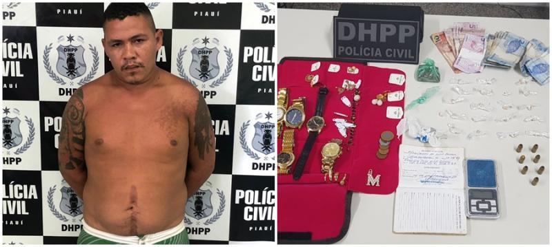 Homem acusado de homicídio é preso em Teresina