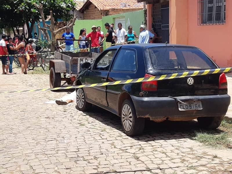 Homem é executado na porta de casa em Piripiri