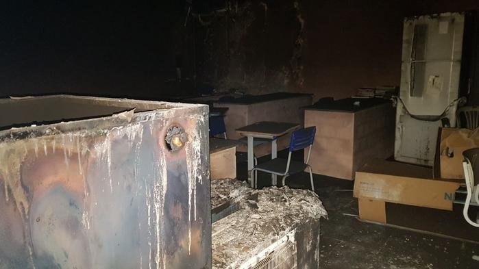 Bandidos ateiam fogo em escola em Lagoa do Piauí