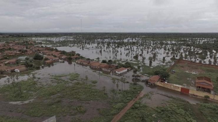 Sobe para 320 pessoas desalojadas em Campo Maior devido as fortes chuvas