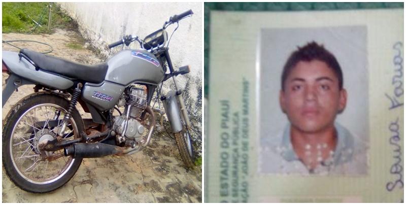 Jovem de 22 anos morre em grave acidente de motocicleta