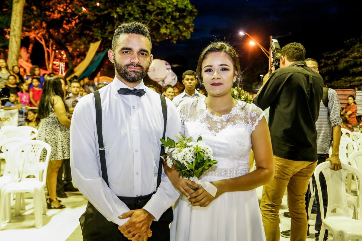 Reabertas inscrições para casamento comunitário da Cidade Junina 2019