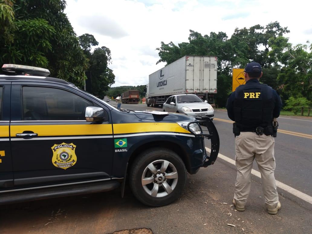 PRF registra 11 acidentes com 3 mortes no feriado da Semana Santa