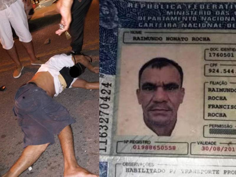Homem morre em acidente entre carro e moto em Parnaíba