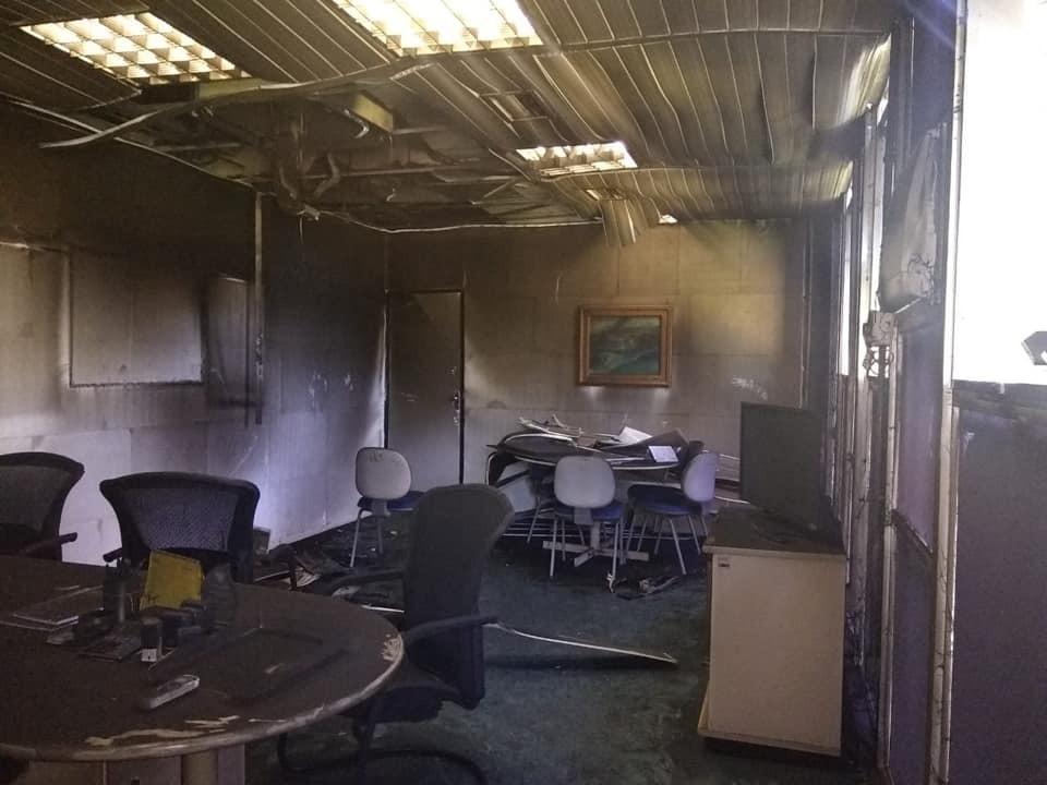 Incêndio atinge sede da Secretaria de Fazenda na zona Sul