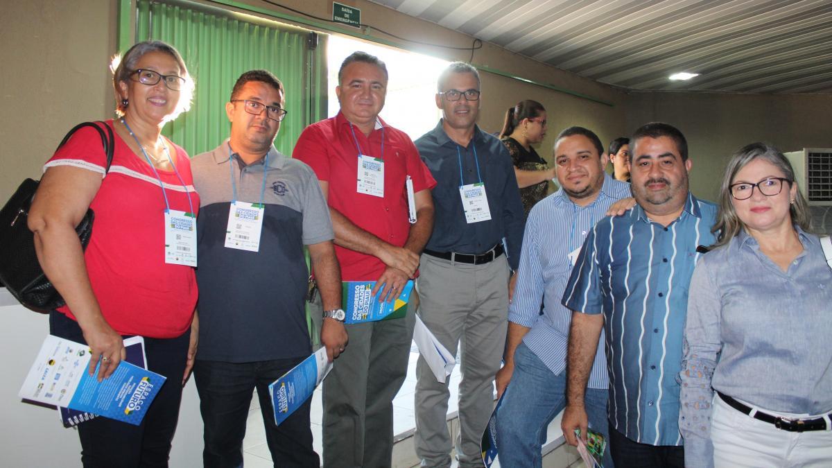 Prefeito de Lagoa do Piauí, Antônio Neto participa de abertura do Congresso das Cidades