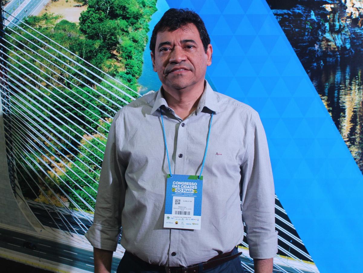 Prefeito de Landri Sales, Aurélio Sá avalia o Congresso das Cidades como positivo