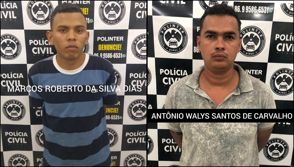 Polinter prende duas pessoas durante operação em Teresina
