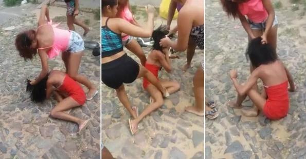 Vídeo mostra jovem que foi assassinada em Sobral sendo espancada