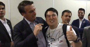 Jair Bolsonaro faz piada com estrangeiro oriental