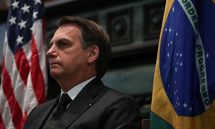 Presidente Bolsonaro vai aos Estados Unidos para receber prêmio e erra durante discurso