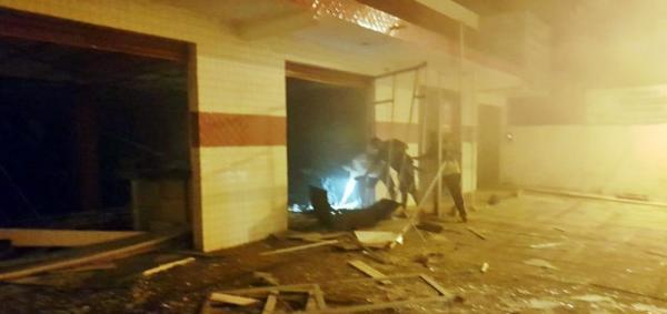 Grupo explode agência do Bradesco em Castelo do Piauí