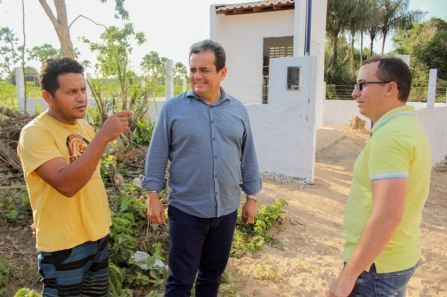 Inauguração de estação de tratamento em Buriti dos Lopes