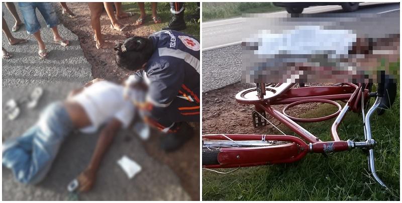 Ciclista morre após ser atropelado por veículo na BR-316