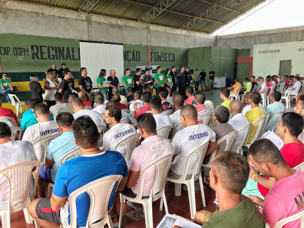 Detentos participam de revisão para Enem 2019